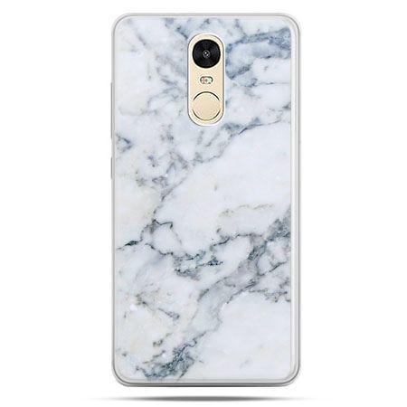 Etui na Xiaomi Redmi Note 4 - biały marmur