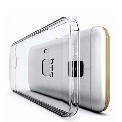 Etui na HTC 10 silikonowe crystal case - bezbarwne.