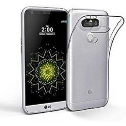 Etui na telefon LG G5 silikonowe crystal case - bezbarwne.
