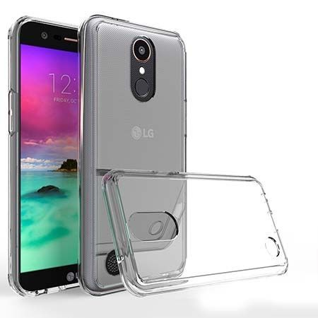 Etui na LG K10 2017 silikonowe crystal case - bezbarwne.