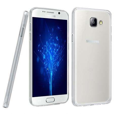 Etui na Samsung Galaxy A7 2016 silikonowe crystal case - bezbarwne.