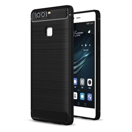 Etui na Huawei P9 bumper Neo CARBON - czarny.