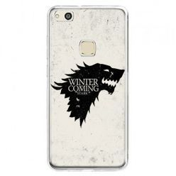 Etui na telefon Huawei P10 Lite - Gra o Tron Winter is coming czarna