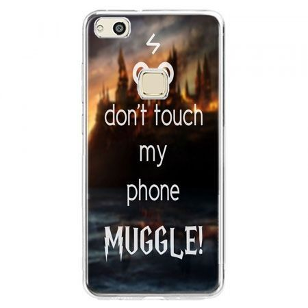 Etui na telefon Huawei P10 Lite - Don`t touch ..Muggle harry Potter