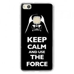 Etui na telefon Huawei P10 Lite - Keep calm and use the force