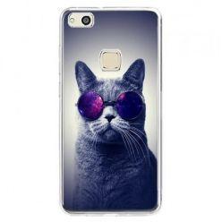 Etui na telefon Huawei P10 Lite - kot hipster w okularach