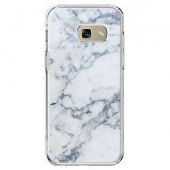 Etui na telefon Galaxy A5 2017 - biały marmur