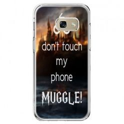 Etui na telefon Galaxy A5 2017 - Don`t touch ..Muggle harry Potter