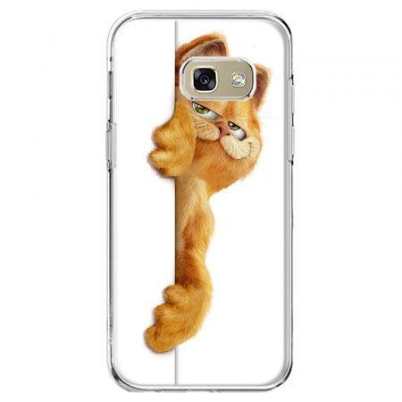 Etui na telefon Galaxy A5 2017 - Kot Garfield