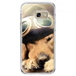 Etui na telefon Galaxy A5 2017 - pies w okularach