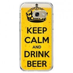 Etui na telefon Galaxy A5 2017 - Keep calm and drink beer