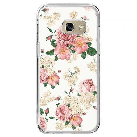 Etui na telefon Galaxy A5 2017 - polne kwiaty