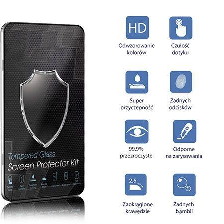Samsung Galaxy S8 hartowane szkło na cały ekran 3D - złoty.