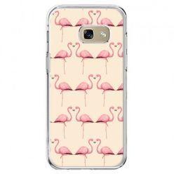 Etui na telefon Galaxy A5 2017 - flamingi