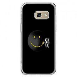 Etui na telefon Galaxy A5 2017 - uśmiechnięta planeta