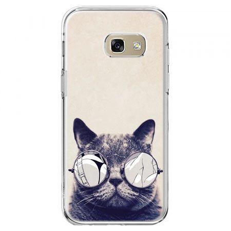 Etui na telefon Galaxy A5 2017 - kot w okularach