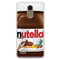 Etui na telefon LG K10 2017 - Nutella czekolada słoik