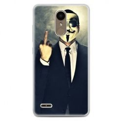 Etui na telefon LG K10 2017 - Anonimus Fuck You