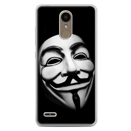 Etui na telefon LG K10 2017 - maska Anonimus