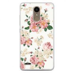 Etui na telefon LG K10 2017 - polne kwiaty