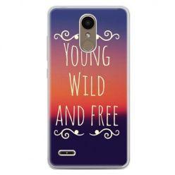 Etui na telefon LG K10 2017 - Young wild and free