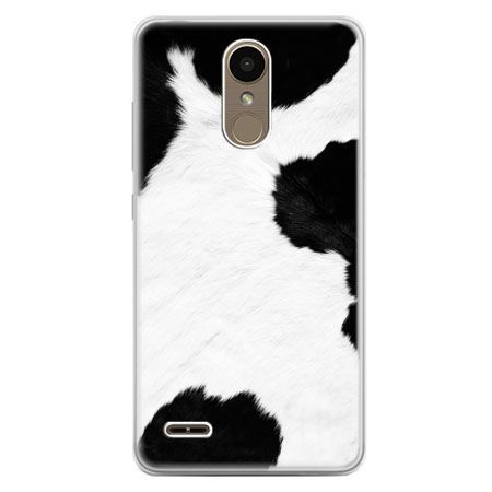 Etui na telefon LG K10 2017 - łaciata krowa