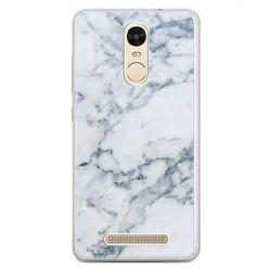 Etui na telefon Xiaomi Redmi Note 3 - biały marmur