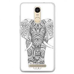 Etui na telefon Xiaomi Redmi Note 3 - Indyjski słoń