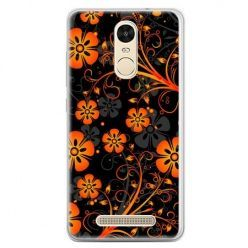 Etui na telefon Xiaomi Redmi Note 3 - nocne kwiaty