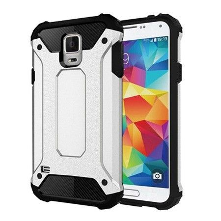 Pancerne etui na Samsung Galaxy S5 / S5 Neo - Srebrny