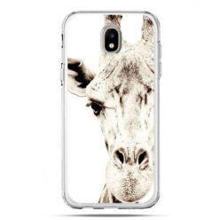 Etui na telefon Galaxy J5 2017 - żyrafa
