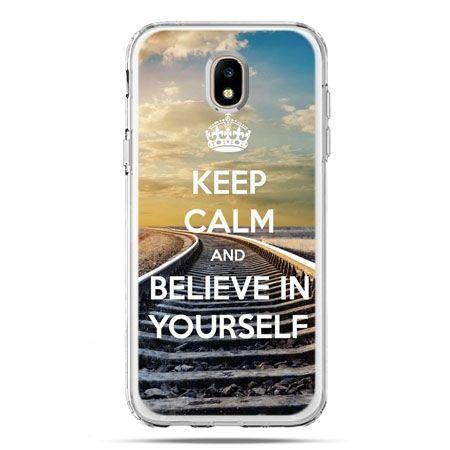 Etui na telefon Galaxy J5 2017 - Keep Calm and Believe in Yourself