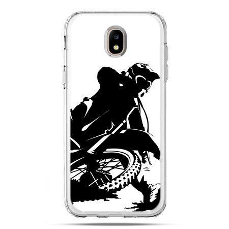 Etui na telefon Galaxy J5 2017 - motocykl cross