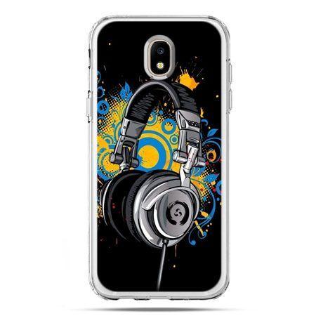 Etui na telefon Galaxy J5 2017 - słuchawki