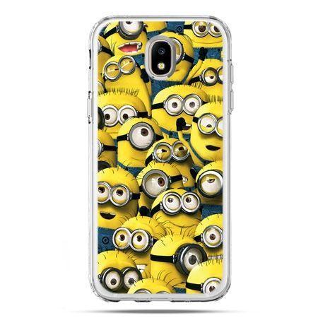 Etui na telefon Galaxy J5 2017 - Minionki grupa