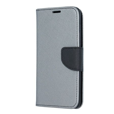 Etui na Galaxy S8 Plus  Fancy Wallet - srebrny.