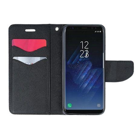 Etui na Galaxy S8 Plus  Fancy Wallet - srebrny.