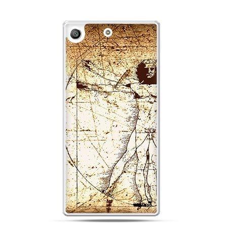 Etui na telefon Xperia M5 człowiek witruwiański - PROMOCJA !
