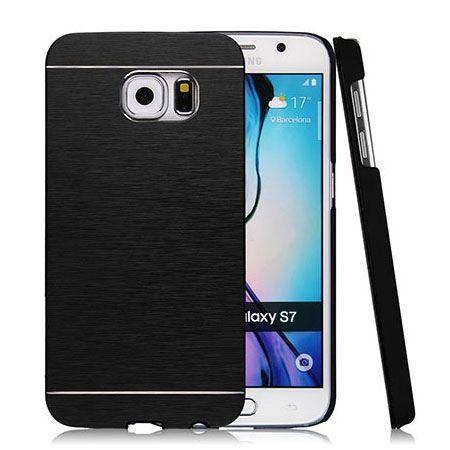 Galaxy S7 etui Motomo aluminiowe czarny. PROMOCJA !!!