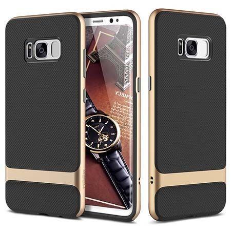 Etui na telefon Galaxy S8 Plus Bumper Rock Royce - Złoty.