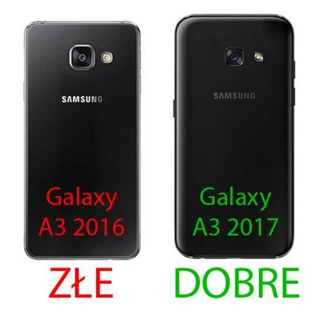 Pancerne etui na Galaxy A3 2017 - Złoty.
