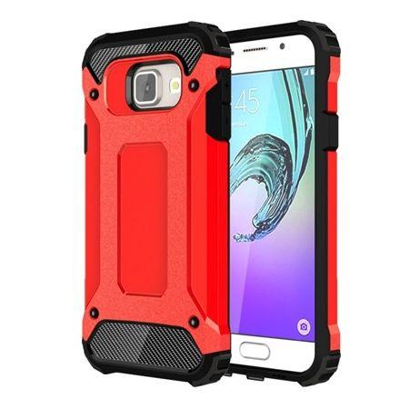 Pancerne etui na Galaxy A5 2017 - Czerwony.