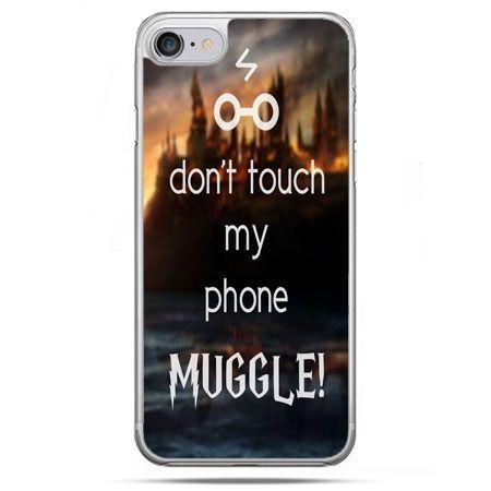 Etui na telefon iPhone 8 - Don`t touch ..Muggle harry Potter