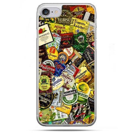 Etui na telefon iPhone 8 - etykiety
