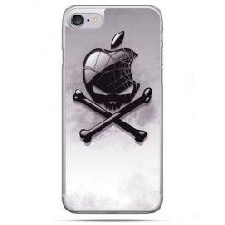 Etui na telefon iPhone 8 - logo Apple czacha