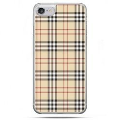 Etui na telefon iPhone 8 - kratka Burberry
