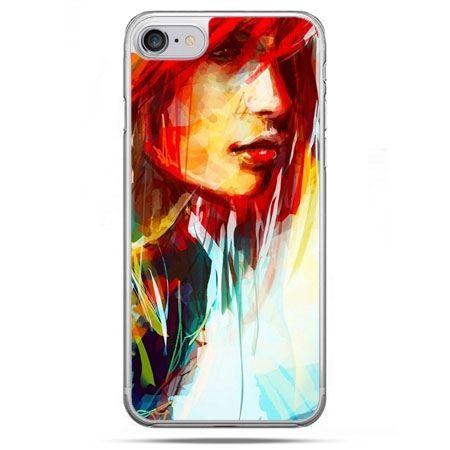 Etui na telefon iPhone 8 - kobieta akwarela