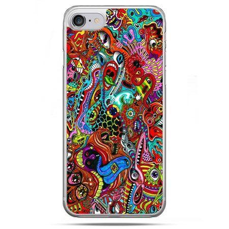 Etui na telefon iPhone 8 - kolorowy chaos