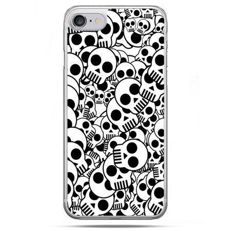 Etui na telefon iPhone 8 - czaszki