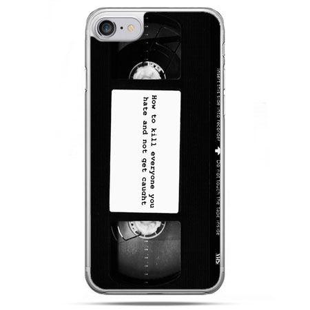 Etui na telefon iPhone 8 - kaseta video